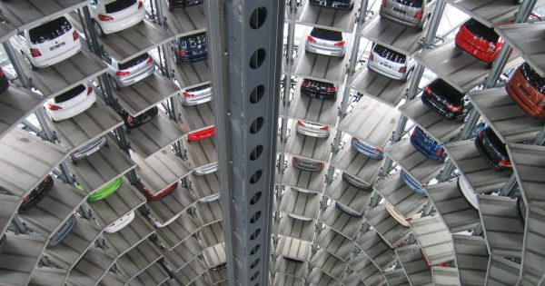 multilevel automated car parking